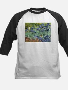 Van Gogh Iris Baseball Jersey