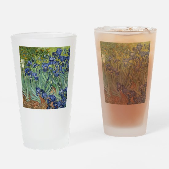 Van Gogh Iris Drinking Glass