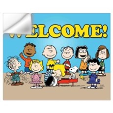 Peanuts Gang-Welcome Wall Art Wall Decal