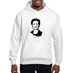 Hillary Clinton Face Hoodie