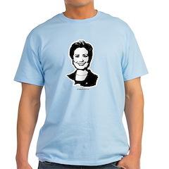 Hillary Clinton Face Light T-Shirt