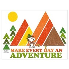 Snoopy-Make Every Day An Adventure Wall Art Poster