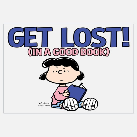 Lucy-Get Lost Wall Art
