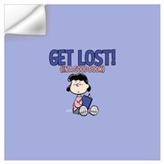 Lucy-Get Lost Wall Art Wall Decal