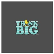 Woodstock-Think Big Wall Art Poster