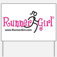 RunnerGirl Yard Sign