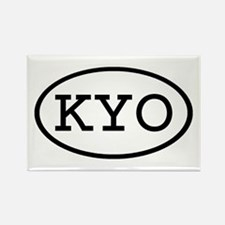 KYO Oval Rectangle Magnet