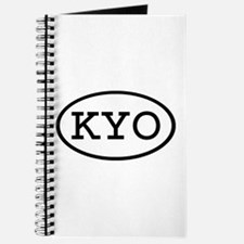KYO Oval Journal