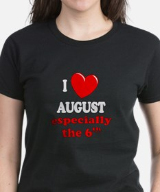 August 6th Tee