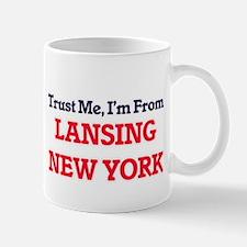 Trust Me, I'm from Lansing New York Mugs