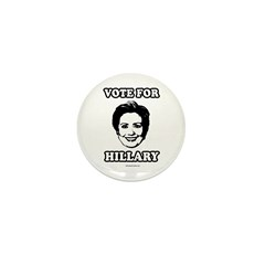 Vote for Hillary Mini Button (100 pack)