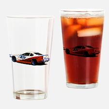Unique Speedway Drinking Glass