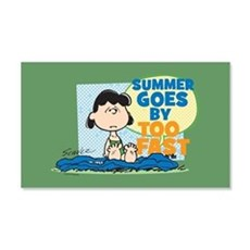 Lucy-Summer Goes By Too Fast Wall Decal