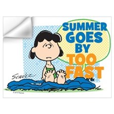 Lucy-Summer Goes By Too Fast Wall Art Wall Decal