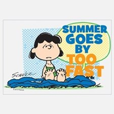 Lucy-Summer Goes By Too Fast Wall Art
