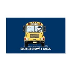 Snoopy - This Is How I Roll Wall Decal
