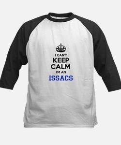 I can't keep calm Im ISSACS Baseball Jersey