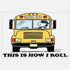 Snoopy - This Is How I Roll Wall Art