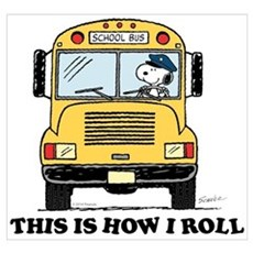 Snoopy - This Is How I Roll Wall Art Poster