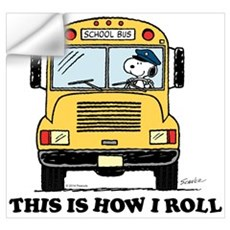 Snoopy - This Is How I Roll Wall Art Wall Decal