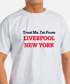 Trust Me, I'm from Liverpool New York T-Shirt
