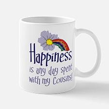 HAPPINESS IS DAY W/ MY COUSINS Mug