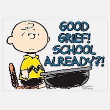 Charlie Brown - Good Grief! School Alread Wall Art