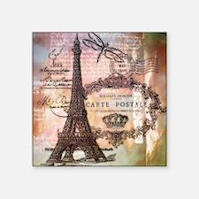 Eiffel tower collage Sticker