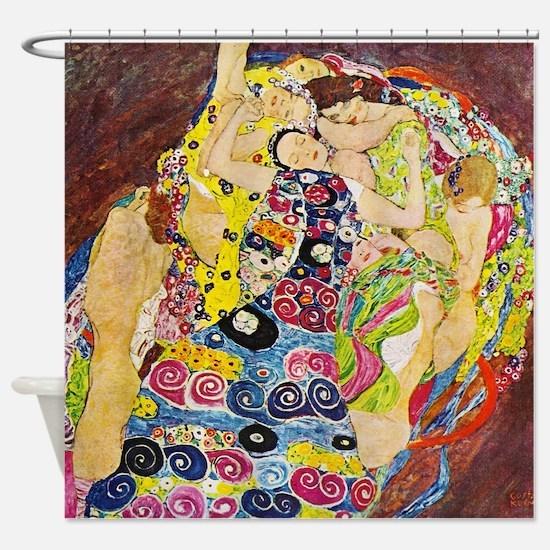 Gustav Klimt The Maiden Shower Curtain