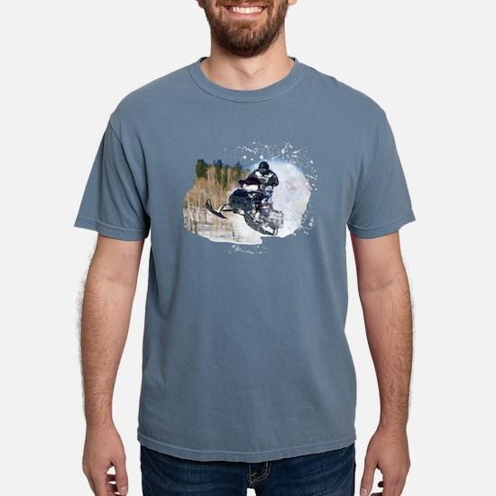 Airborne Snowmobile T-Shirt
