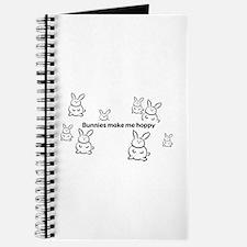 Bunnies Make Me Hoppy Journal