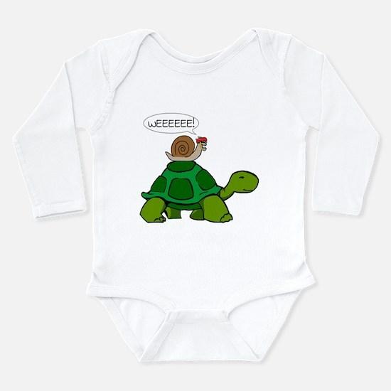 Snail & Turtle Body Suit