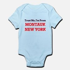 Trust Me, I'm from Montauk New York Body Suit