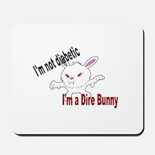 Dire Bunny Mousepad