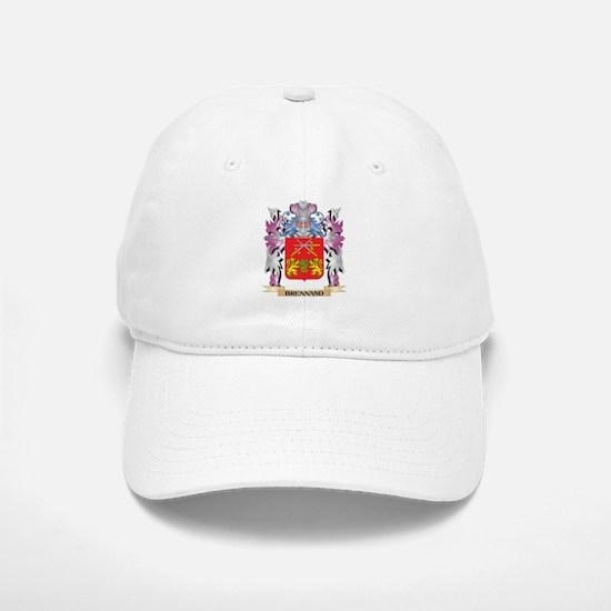 Brennand Coat of Arms (Family Crest) Baseball Baseball Cap