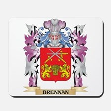 Brennan Coat of Arms (Family Crest) Mousepad