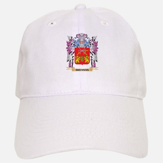 Brennan Coat of Arms (Family Crest) Baseball Baseball Cap