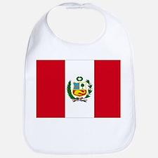 Peruvian Flag Bib