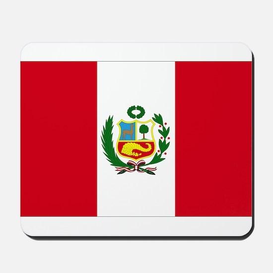 Peruvian Flag Mousepad