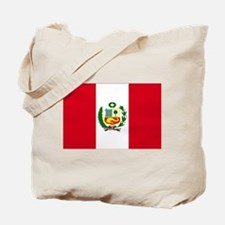 Peruvian Flag Tote Bag