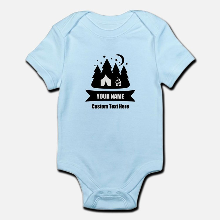 Custom Camping Baby Clothes & Gifts