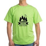 Camping Green T-Shirt