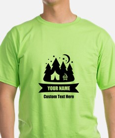 CUSTOM Camping Design T-Shirt