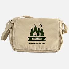CUSTOM Camping Design Messenger Bag