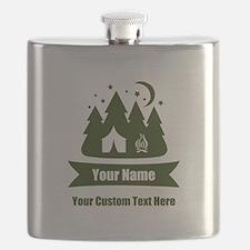 CUSTOM Camping Design Flask