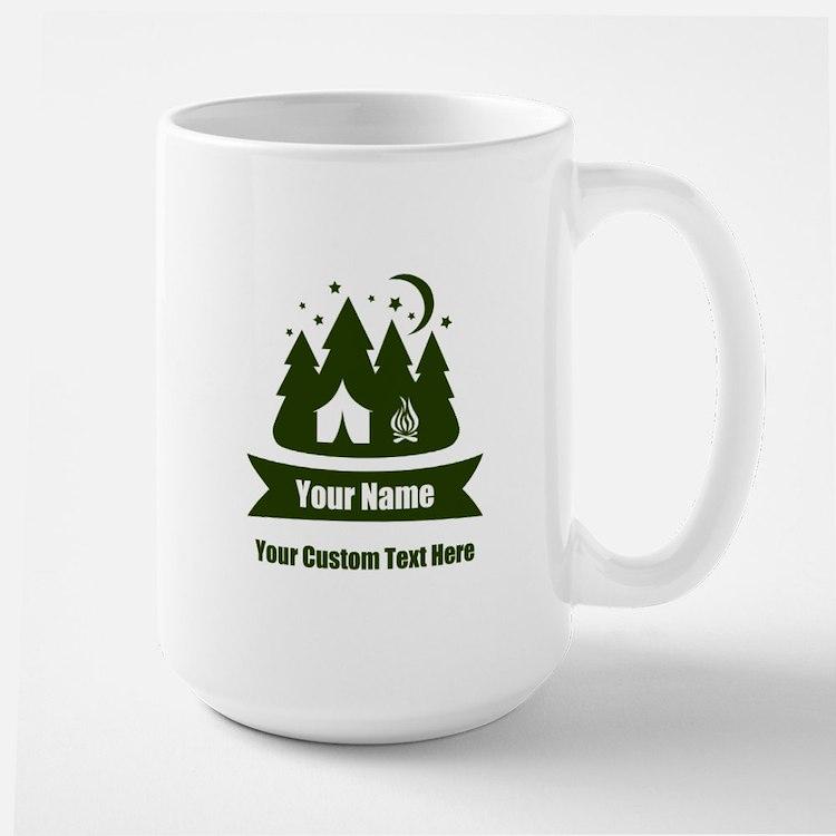 CUSTOM Camping Design Mugs