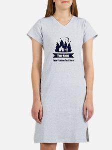 CUSTOM Camping Design Women's Nightshirt