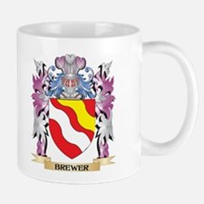 Brewer Coat of Arms (Family Crest) Mugs