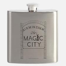 Magic City Logo Flask