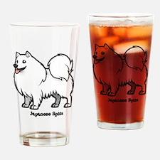 Cute Spitz Drinking Glass